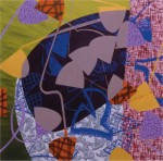 Squaresite no.12 Nineveh Oil and mixed media on canvas 2006  72 x 72 ins 183 x 183 cm