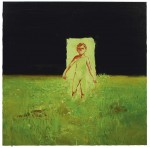 Luminous Green Boy, 2007, oil on canvas, 48 x 48 ins 122 x 122 cm