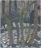 Mark Cazalet Rachel's Covet Winter 9 chalk 48x40cm