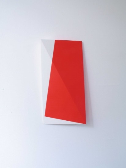 farb-licht-modulierung 2010-11 acrylic and varnish on mdf 40x120x5 cm