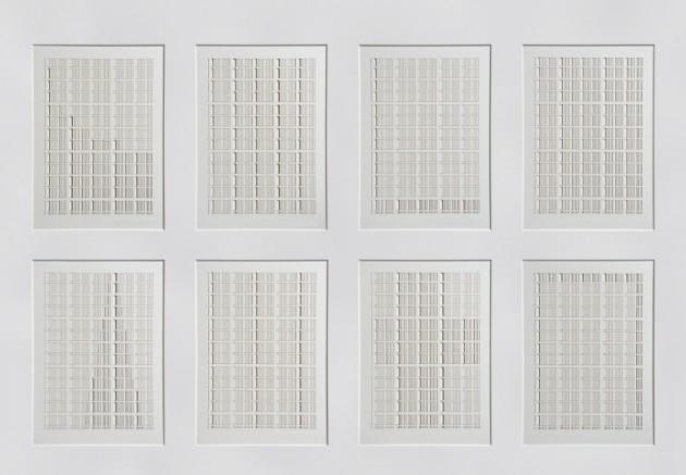 Graph Series 2010 cut paper edition of 3 72x53.5cm